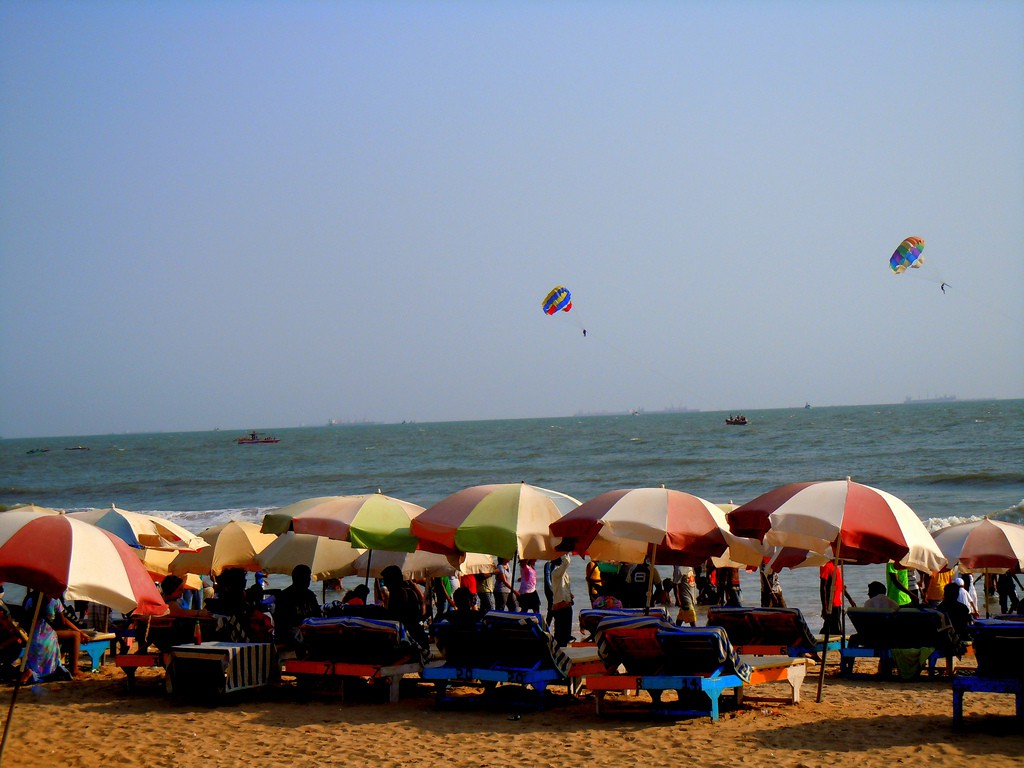 Baga Beach, Goa | © Abhishek Kumar / Flickr