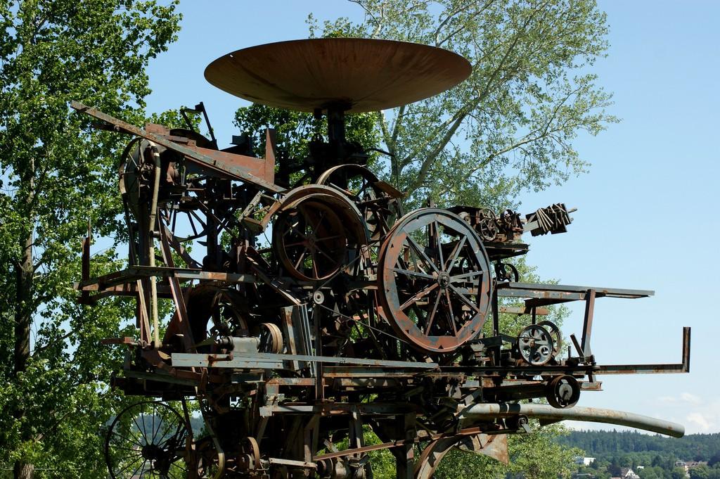 Heureka, Zurich's Useless Machine   © Allie_Caulfield / Flickr