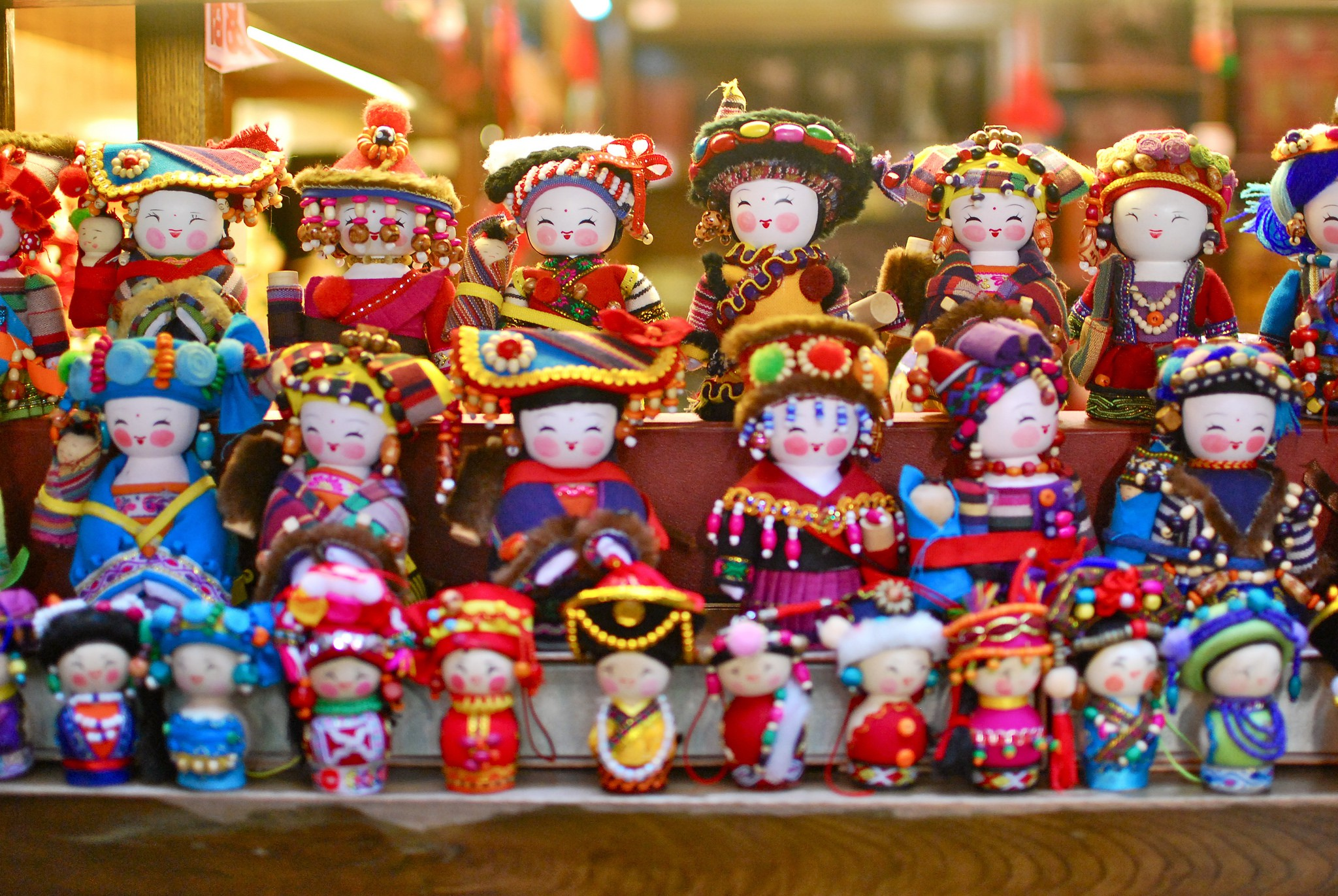 "<a href=""https://www.flickr.com/photos/kittykaht/6916833622"">Souvenir dolls I © Kitty Khat/Flickr</a>"