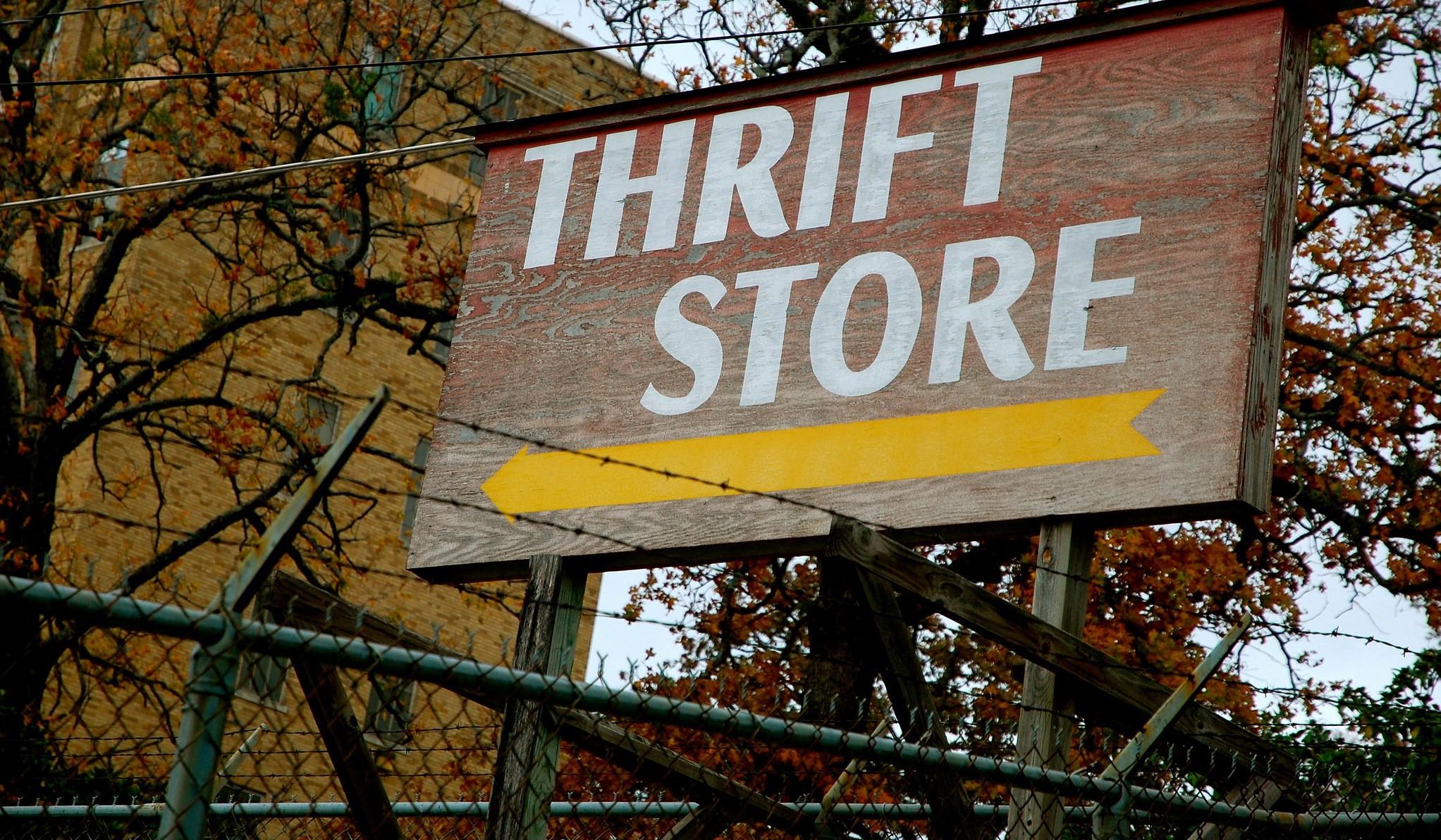 Thrift store | © Steve Snodgrass / Flickr
