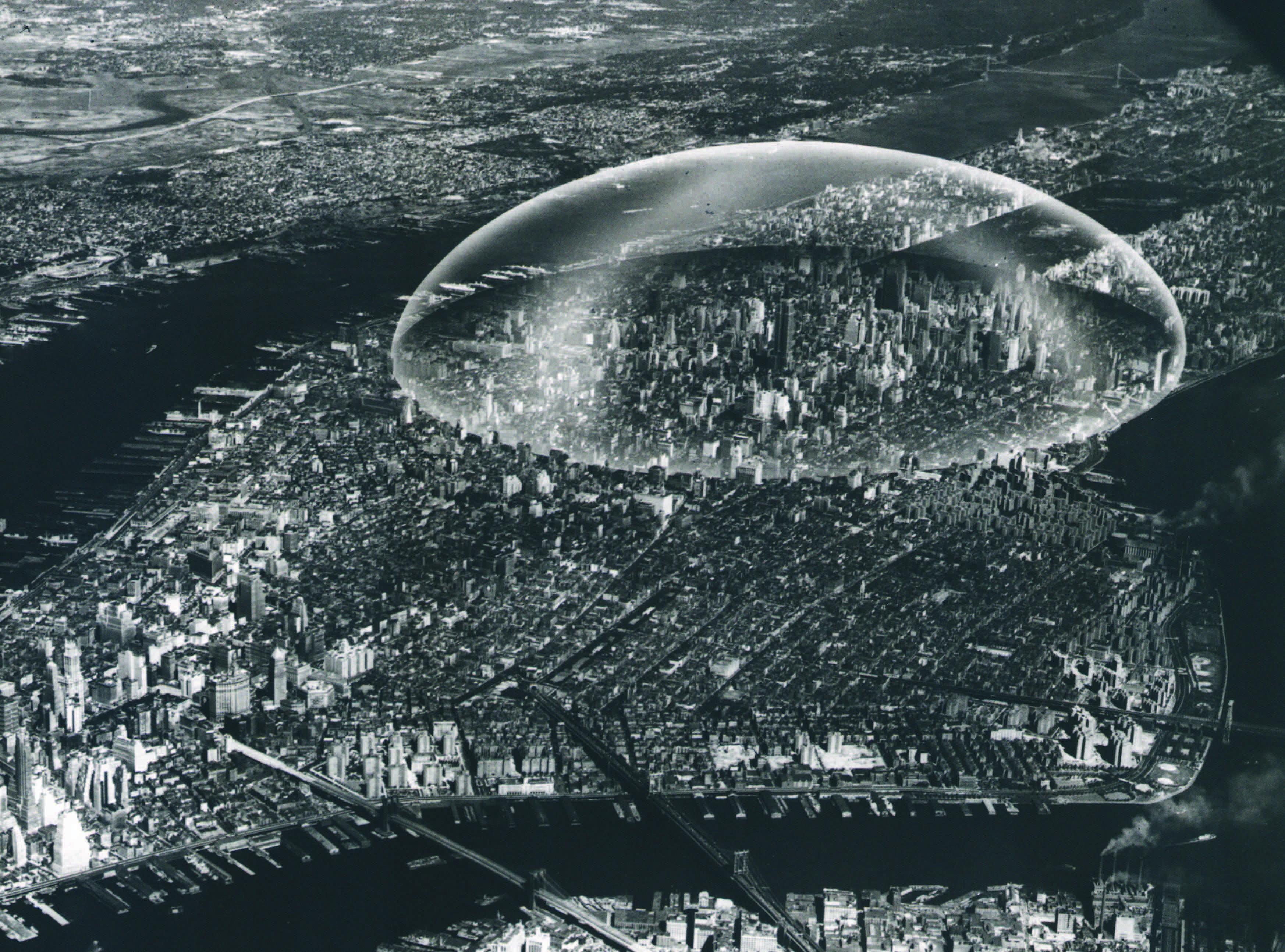 Buckminster Fuller Dome, 1961 © Never Built New York, Metropolis Books