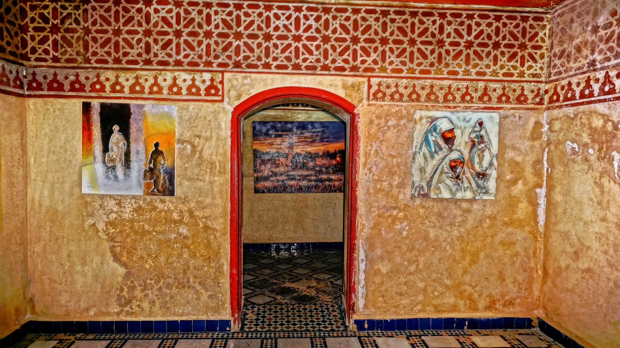 Bright artwork in the Marrakech Museum | © Miguel Discart / Flickr
