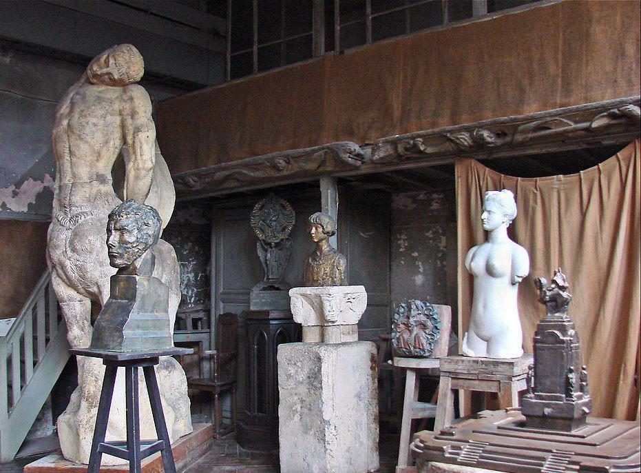 Bourdelle's workshop │© Jean-Pierre Dalbéra / Wikimedia Commons