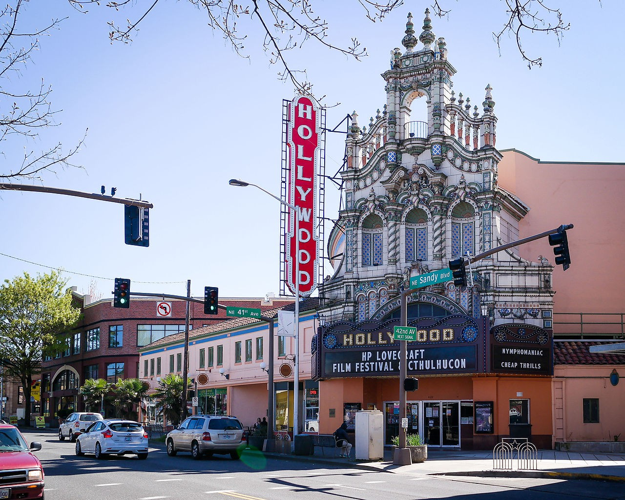 Hollywood Theater – Portland, Oregon | © Visitor7 / WikiCommons