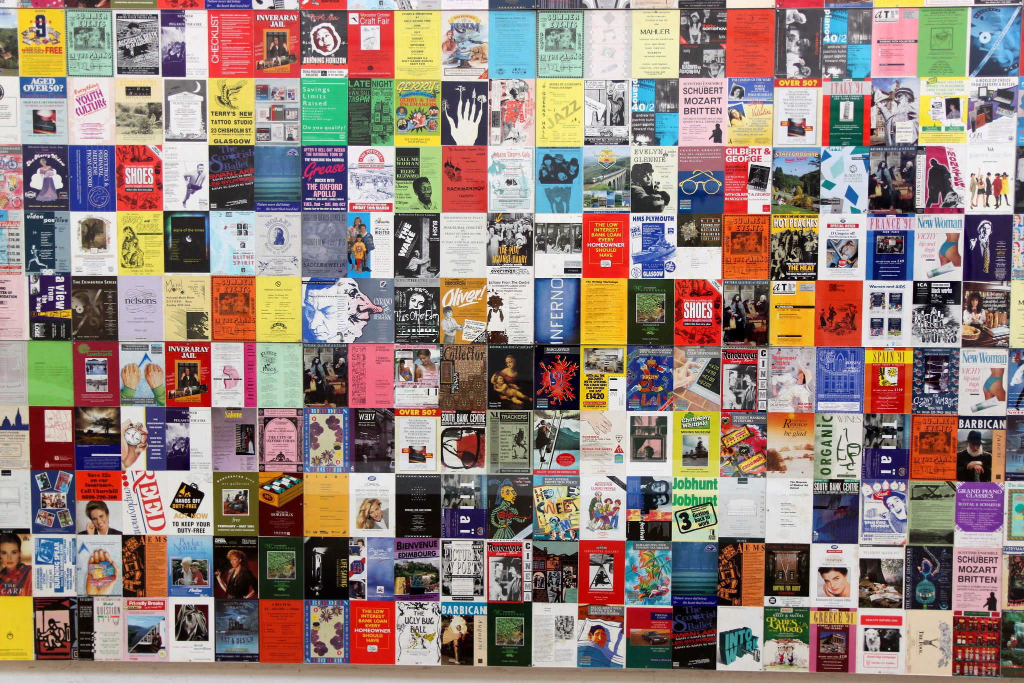Modern Art Oxford, Book covers | © Muffinn/Flickr