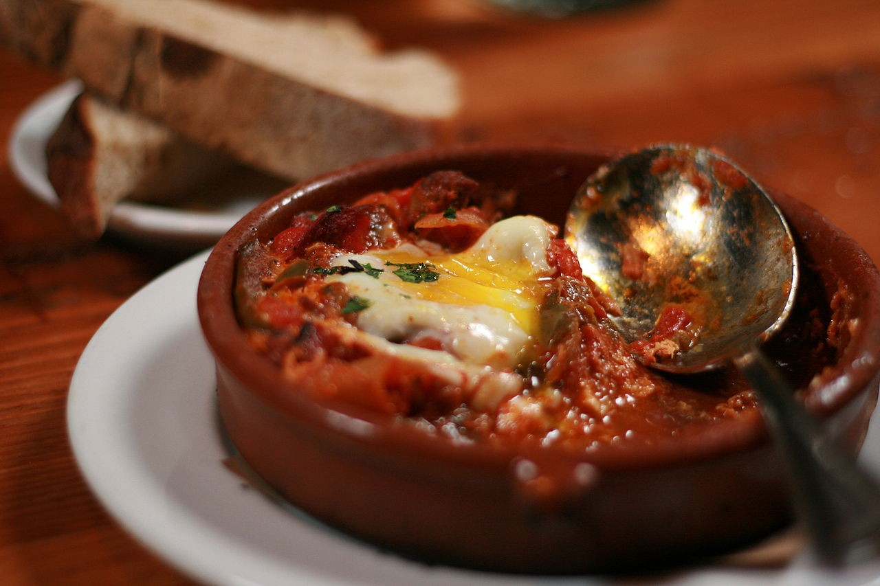 Shakshuka is Israel's most famous breakfast dish |Courtesy of Wikipedia