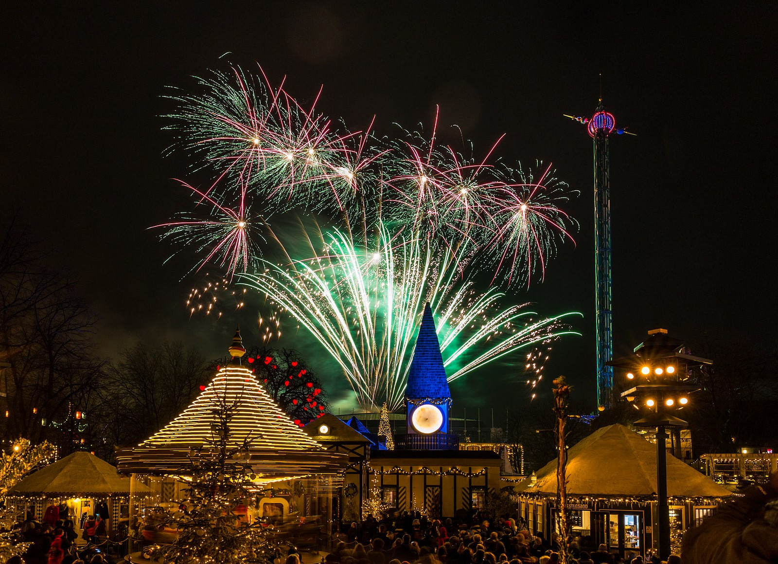 New Years fireworks in Tivoli gardens | © Thomas Rousing/Flickr