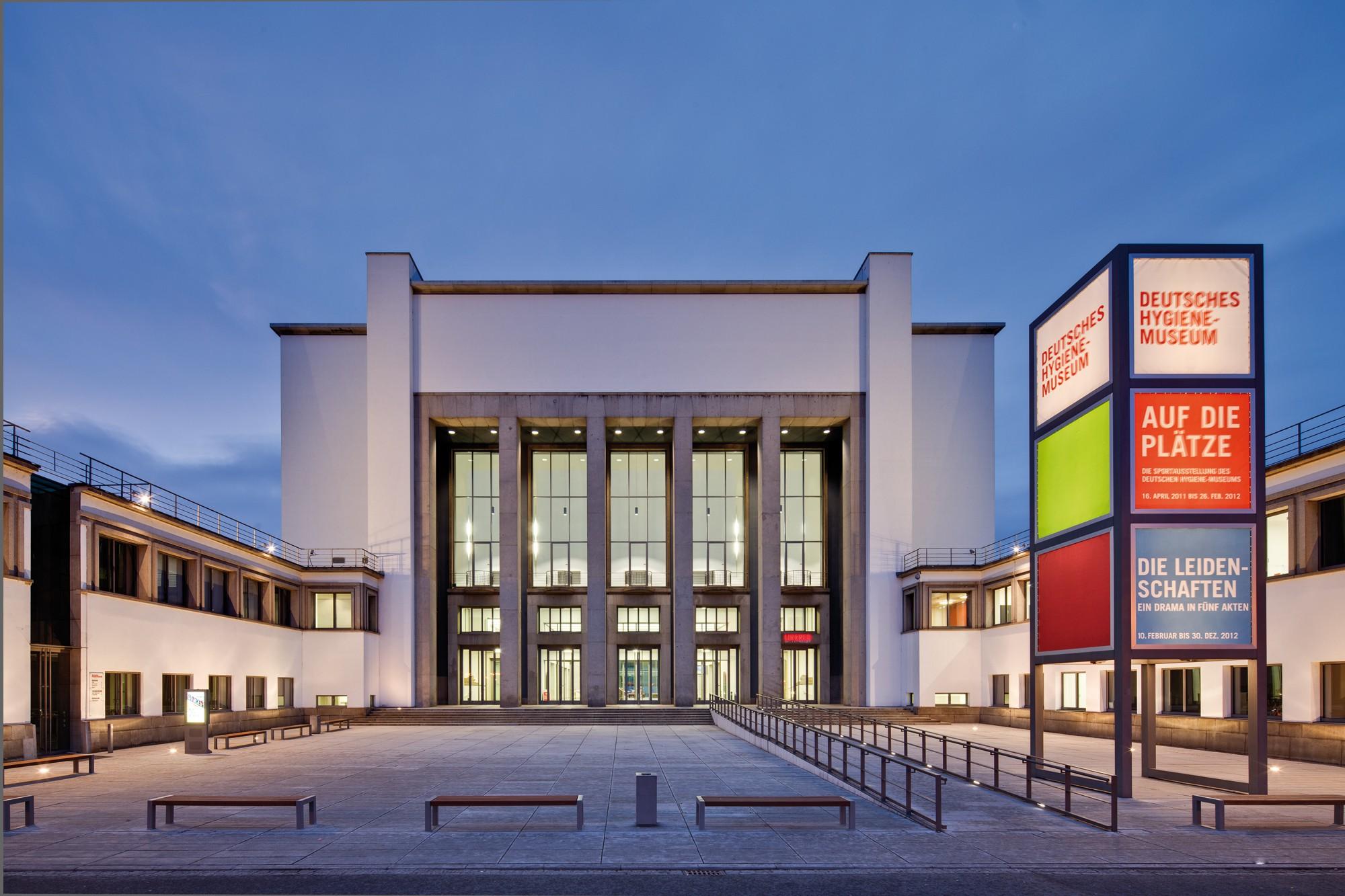 The German Hygiene Museum, Dresden   © David Brandt / Courtesy of dhmd.de