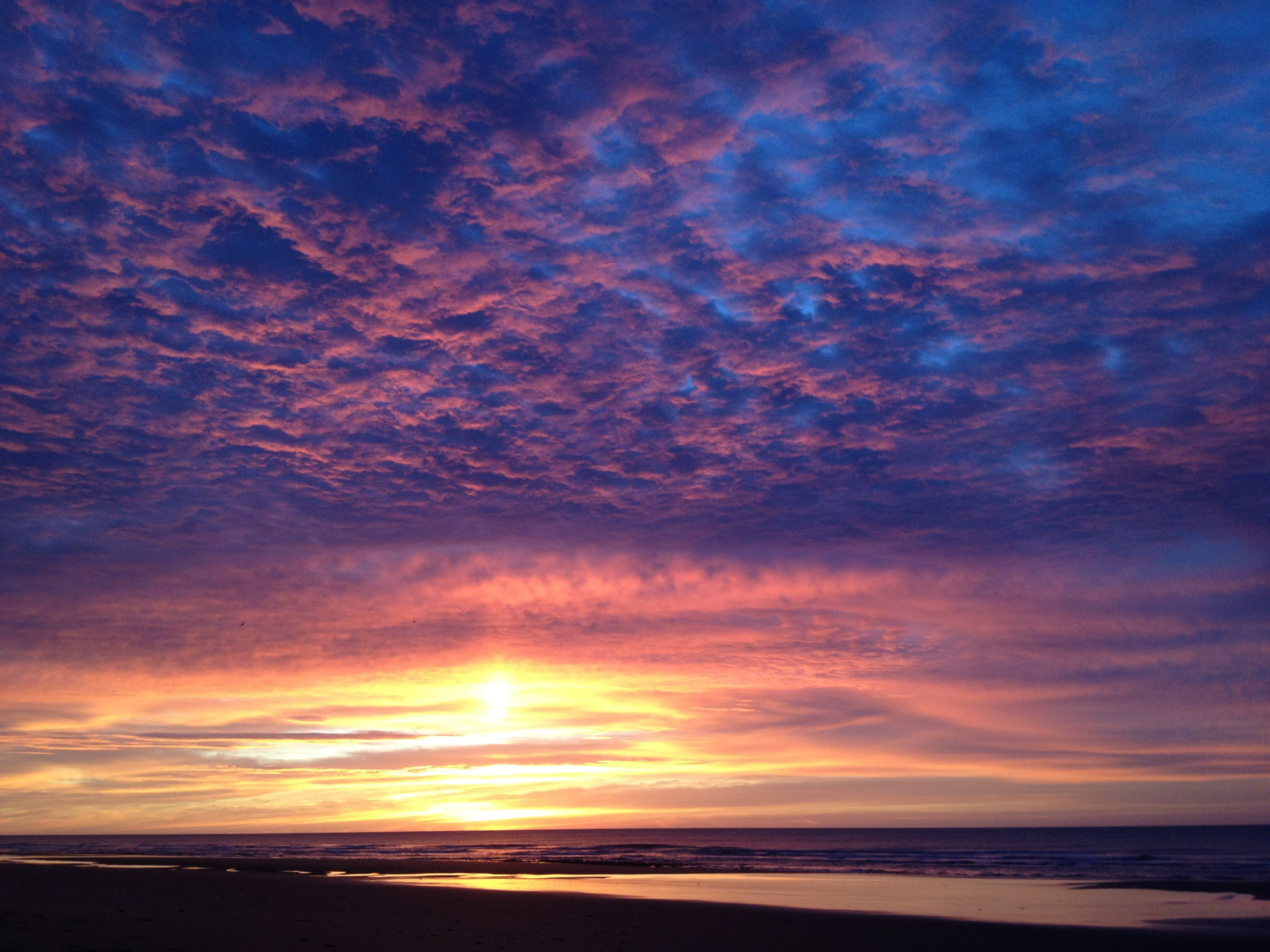 Sunset at Pehuen-Có, Argentina I © Kristin Deasy