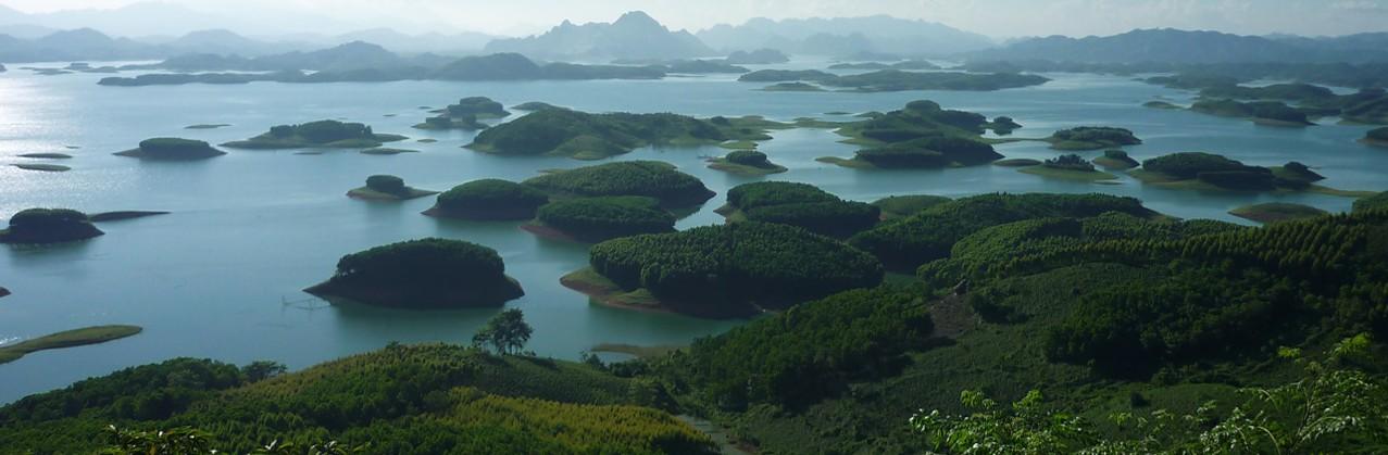 Thac Ba Lake | © Courtesy of La Vie Vu Linh Eco-lodge