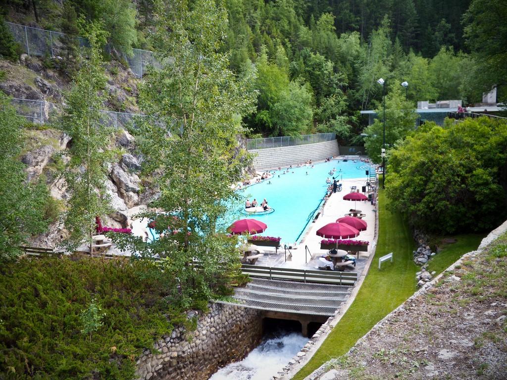 Radium Hot Springs, British Columbia | © Samantha Marx/ Flickr