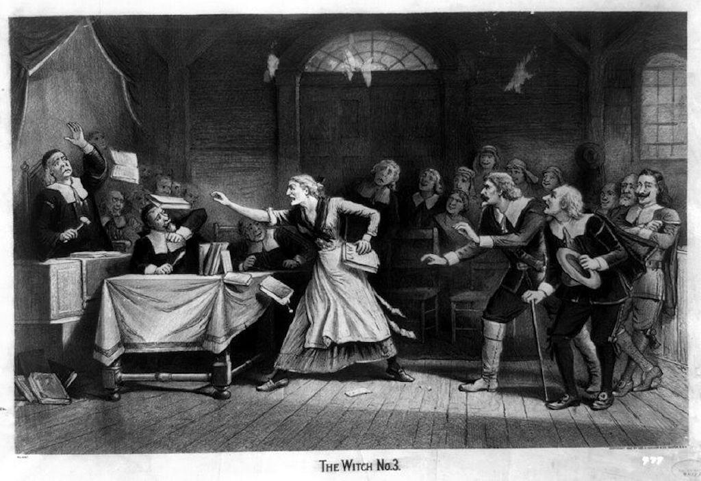 """The Witch, No. 3,"" circa 1892 Feb. 29 | © Baker, Joseph E., ca. 1837-1914, artist./WikiCommons"