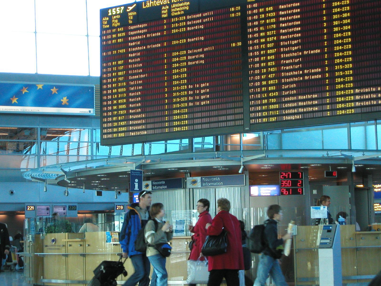 Helsinki airport |© Timo Newton-Syms / Flickr