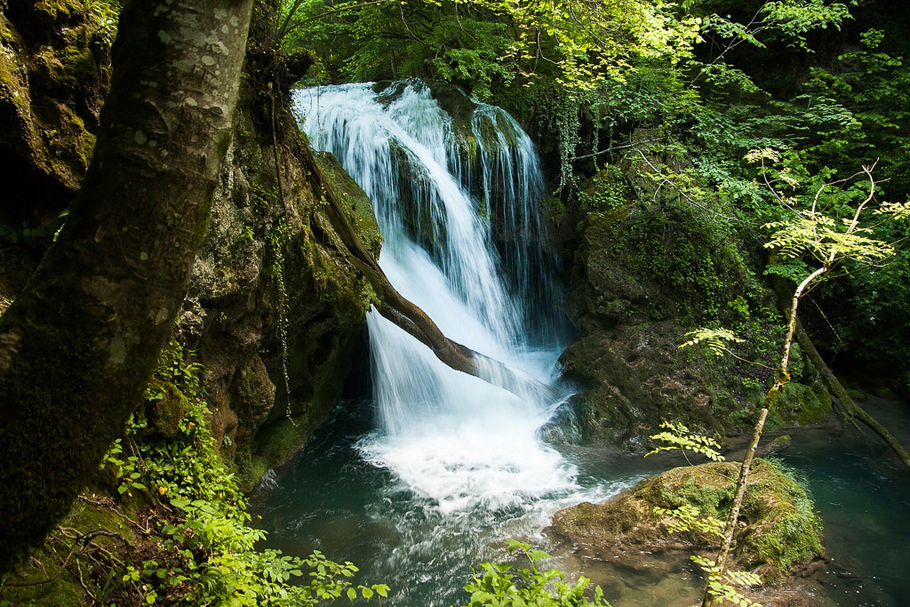 Waterfall in Cheile Nerei National Park | ©  Cristiana Bardeanu /Flickr