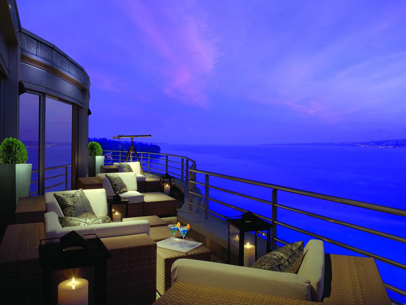 Royal Penthouse Suite, Hotel President Wilson, Geneva, Switzerland | Courtesy of Elite Traveler