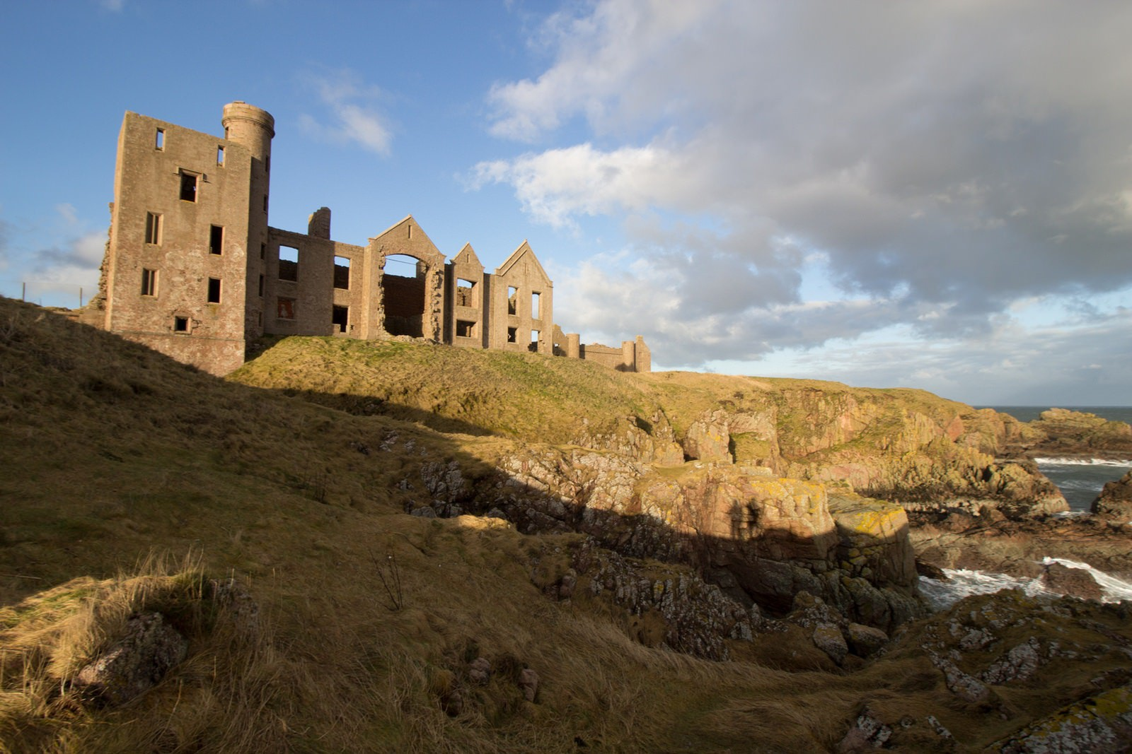 New Slains Castle | © phillpill/Flickr