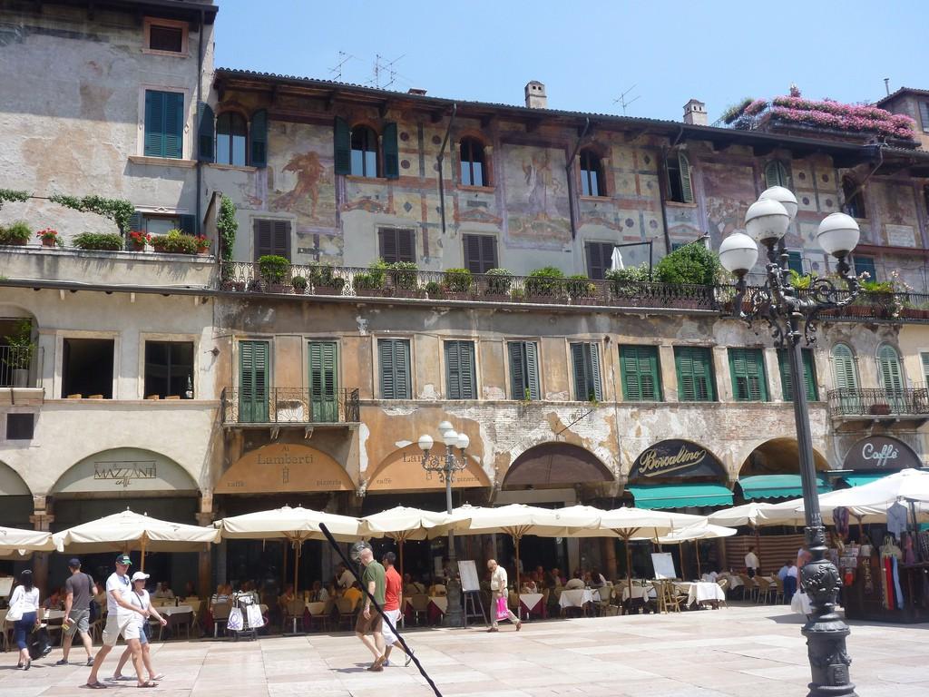 Piazza delle Erbe | grongar/Flickr