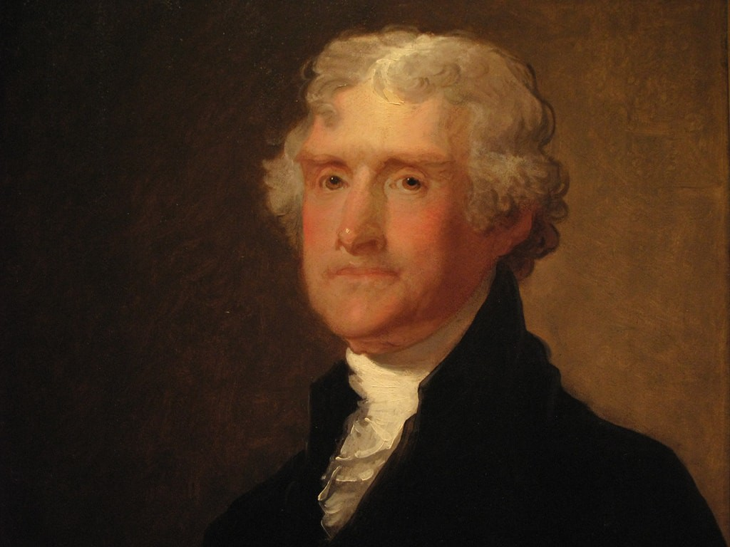 Thomas Jefferson by Gilbert Stuart | © Nathan Borror / Flickr