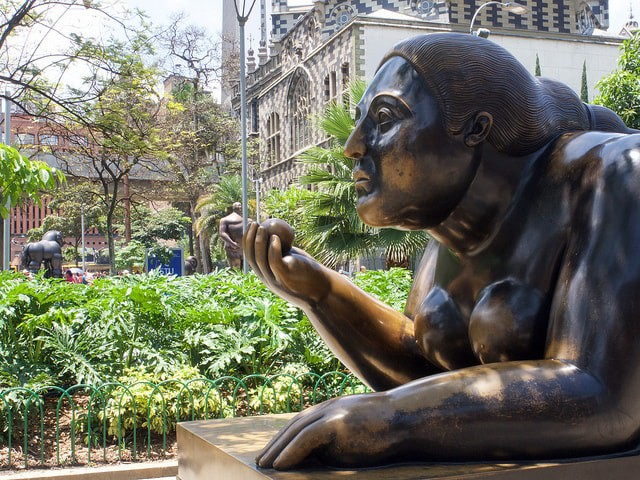 Botero statue | © Laurent de Walick / Flickr