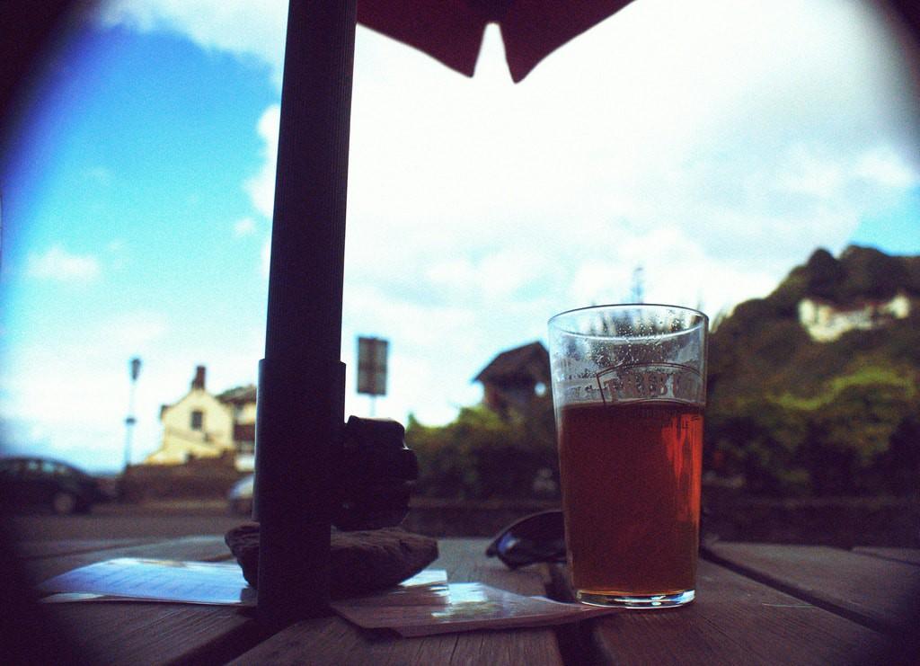 Drinking beer on Dartmoor    © Matt Clark/Flickr