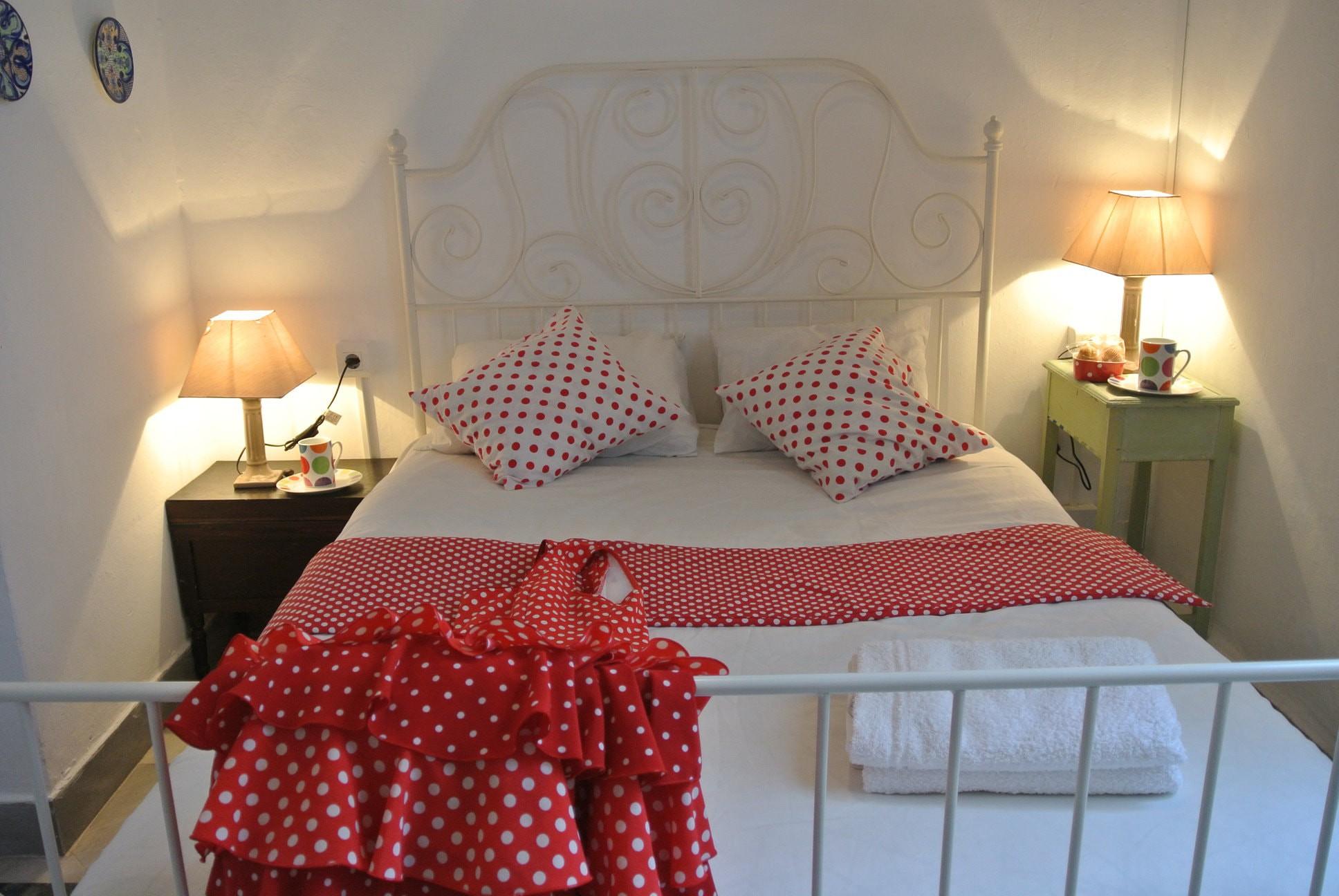 A bedroom at Patio 19; courtesy Patio 19