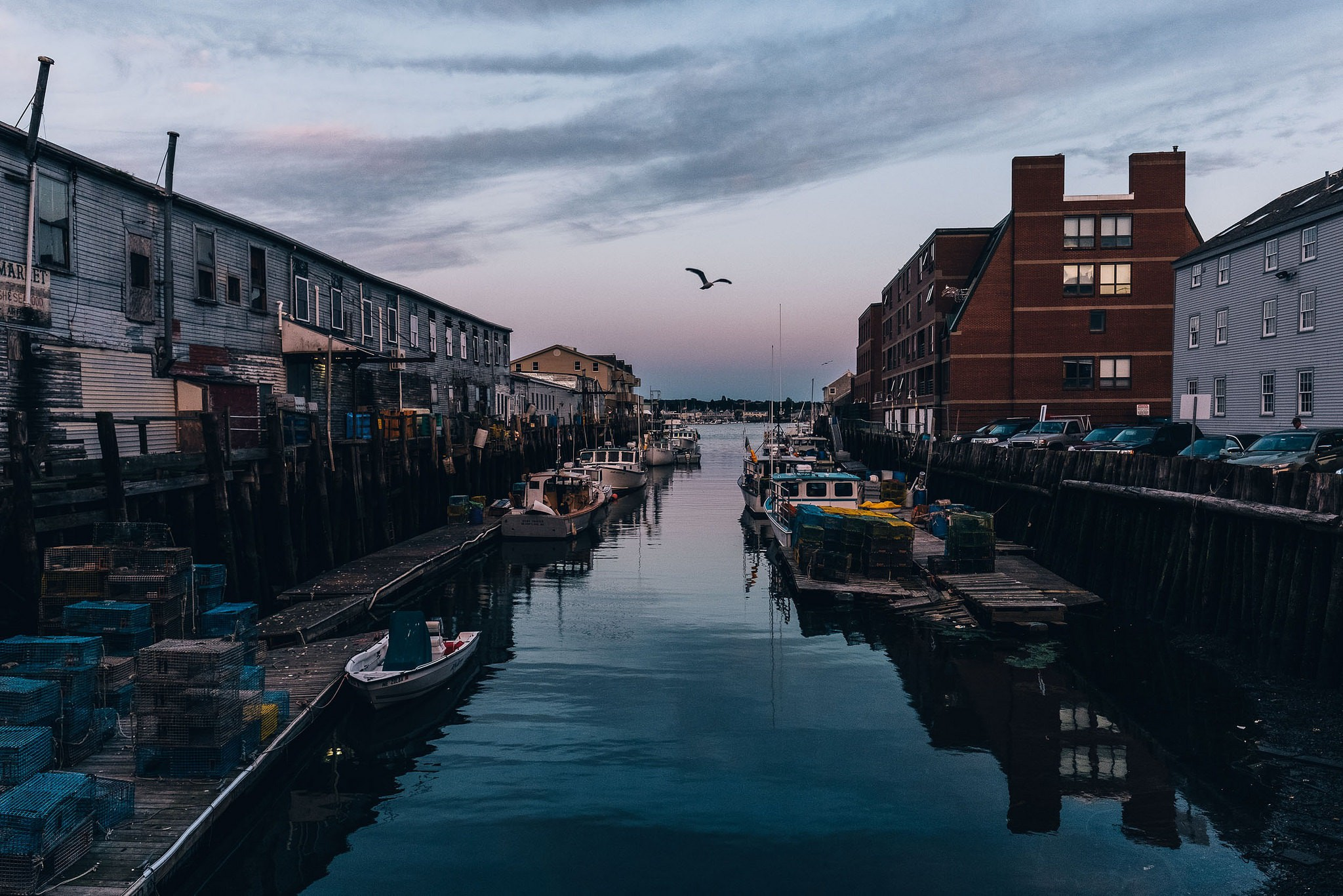 Portland Maine's Docks | © Allgash Brewing/Flickr
