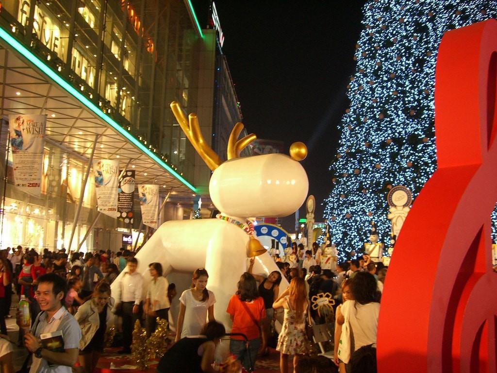 Christmas in Bangkok   ©Sergey/Flickr