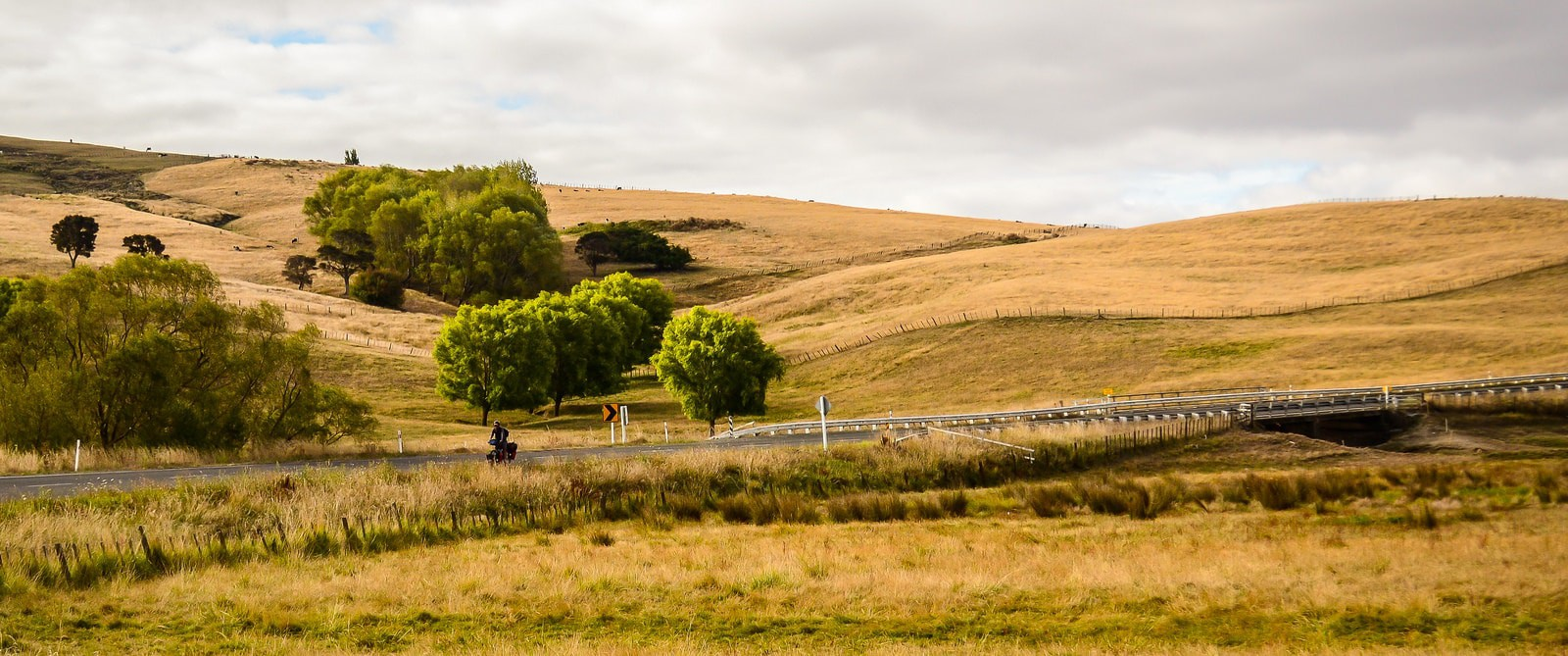 Cycling in New Zealand | © Amaya Williams + Eric Schambion/Flickr
