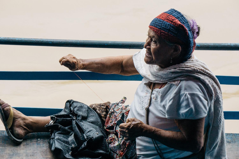 Meet the Peruvian Faces on an Amazon Cargo Ship