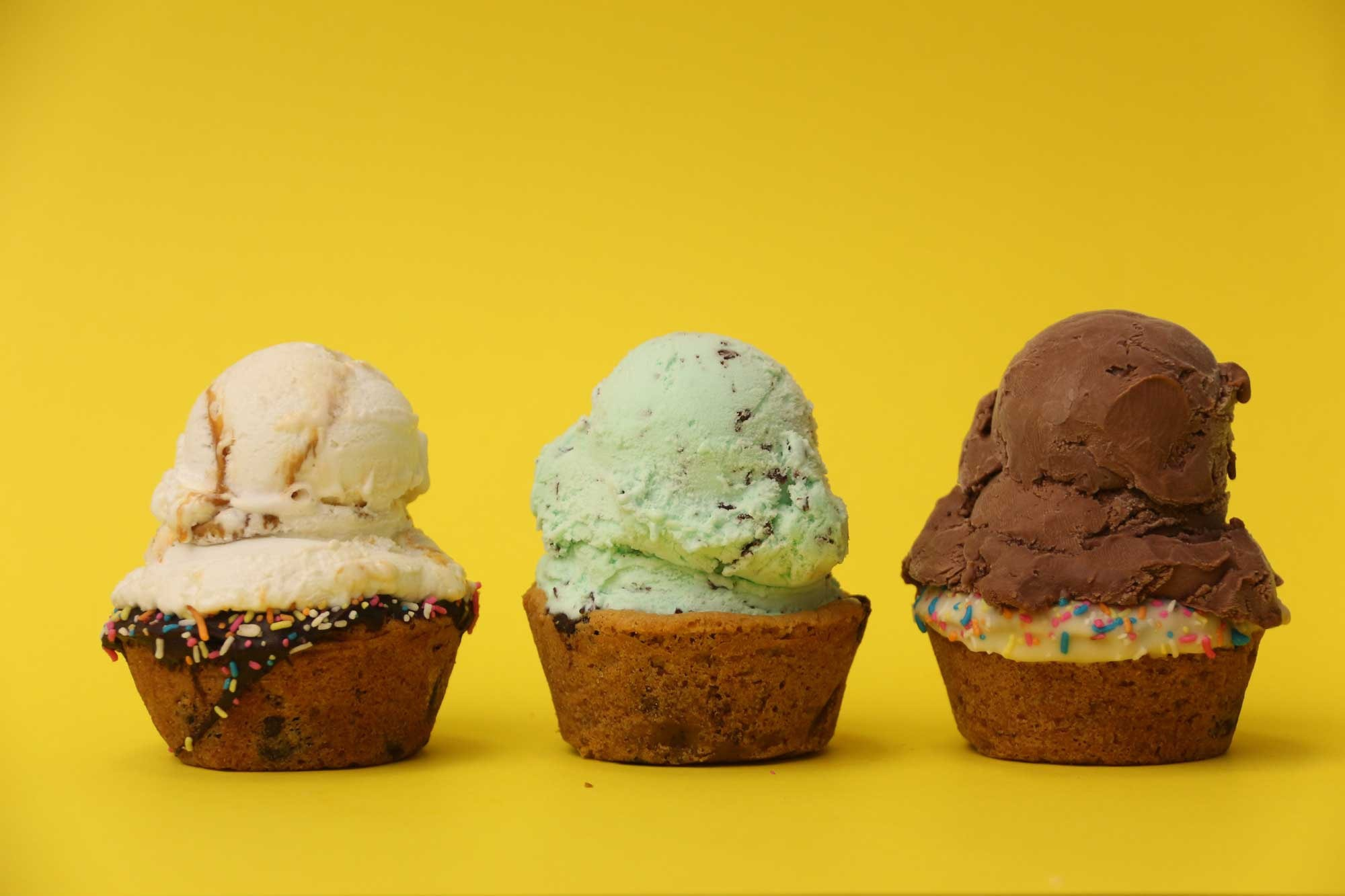 Indulge in ice-cream sandwiches and more at Crumbs and Cream   Courtesy of Crumbs and Cream