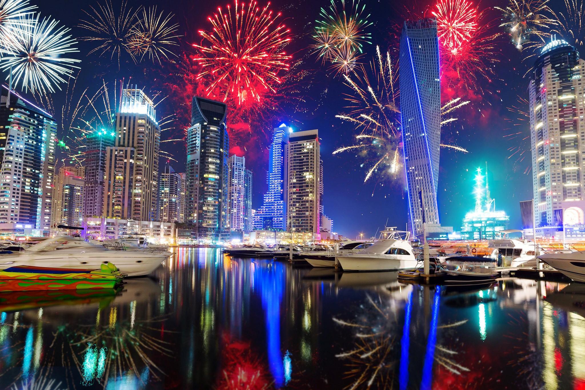 New Year's Eve in Dubai   ©Thomas Nilsson/ Flickr