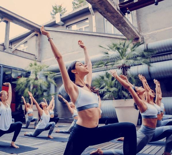 The Prettiest Yoga Spots in London