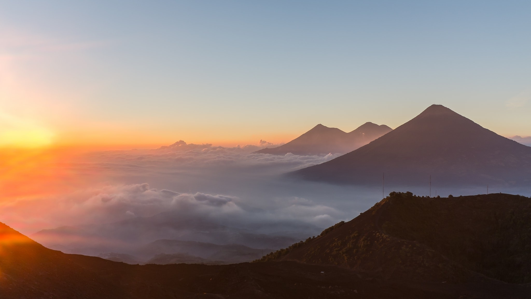 View from Volcano Pacaya | © Christopher Crouzet / Flickr