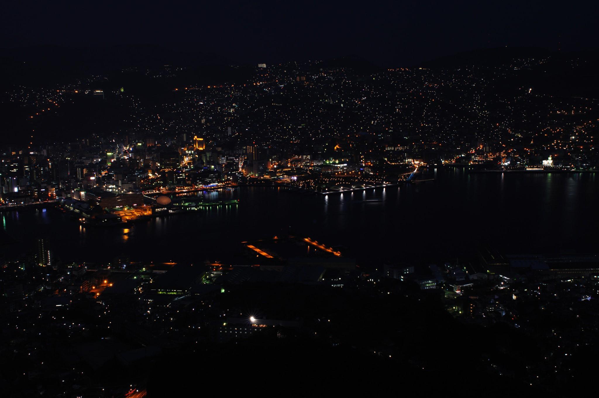 Night view of Nagasaki City   © Konstantin Leonov / Flickr