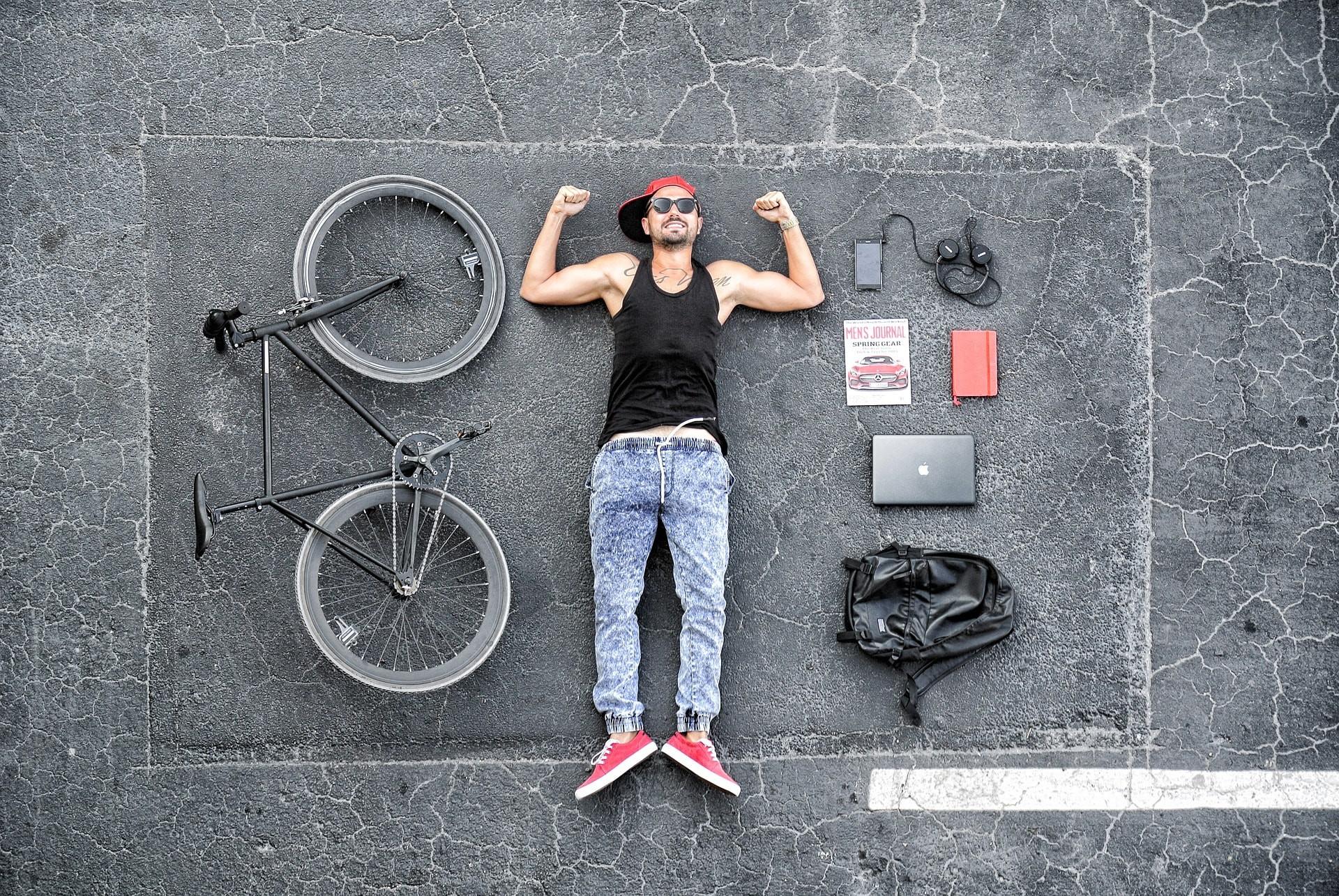 Urban backpacker   © YesManProductions / Pixabay