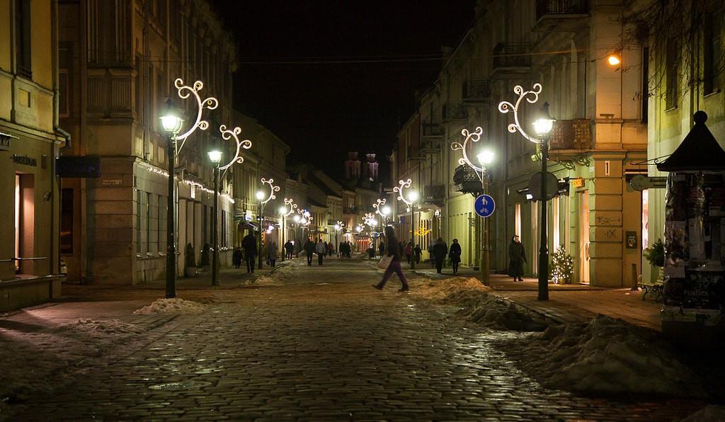 Kaunas at night   ©Petr Magera/Flickr