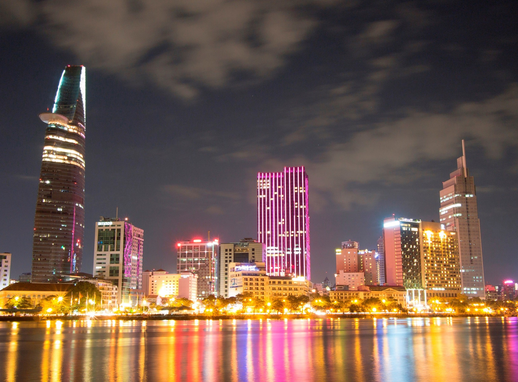 Ho Chi Minh City Skyline | © tokeisan/Wikipedia Tiếng Việt