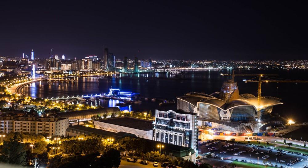 Night panoramic view of the city | © Damian Pankowiec/Shutterstock