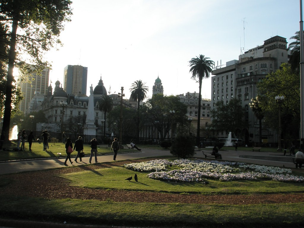 A pretty park in central Buenos Aires | © Sindy & Mike`s Weltreise/Flickr