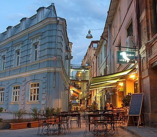 Street of Cafes in Tbilisi | © Marko Petrovic / WikiCommons