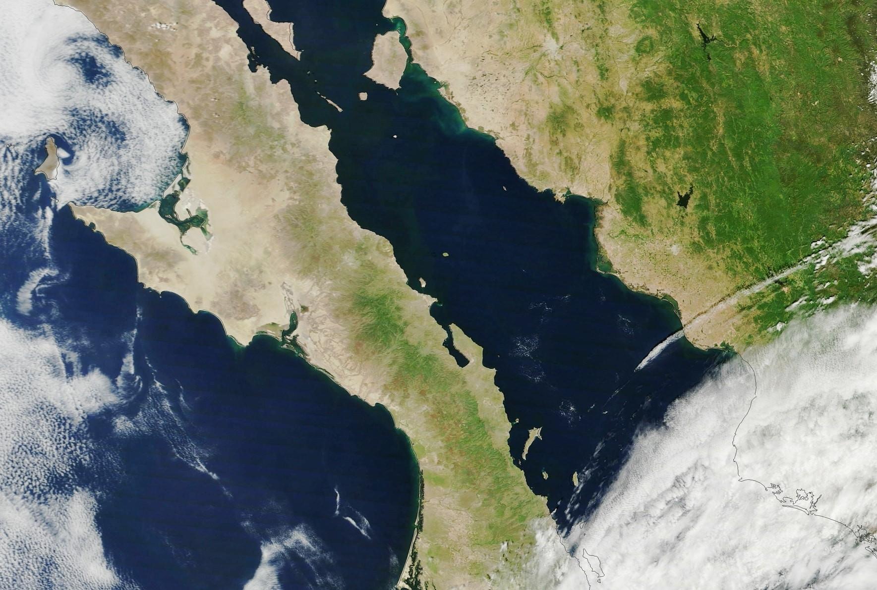 The Baja California Peninsula | © NASA Goddard Space Flight Center / Flickr