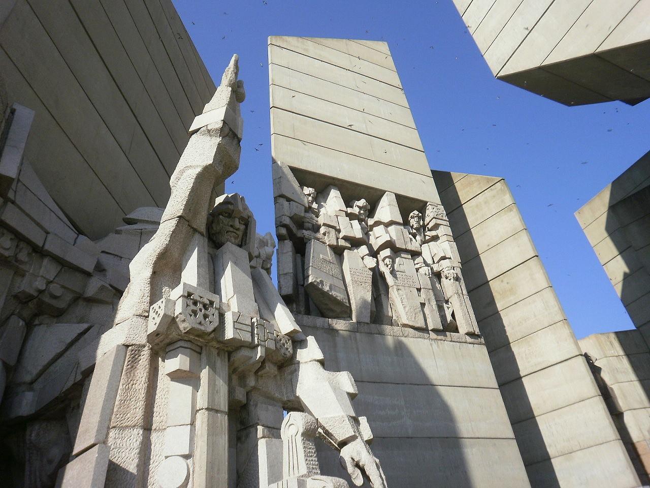 Founders of the Bulgarian State Monument, Shumen, Bulgaria