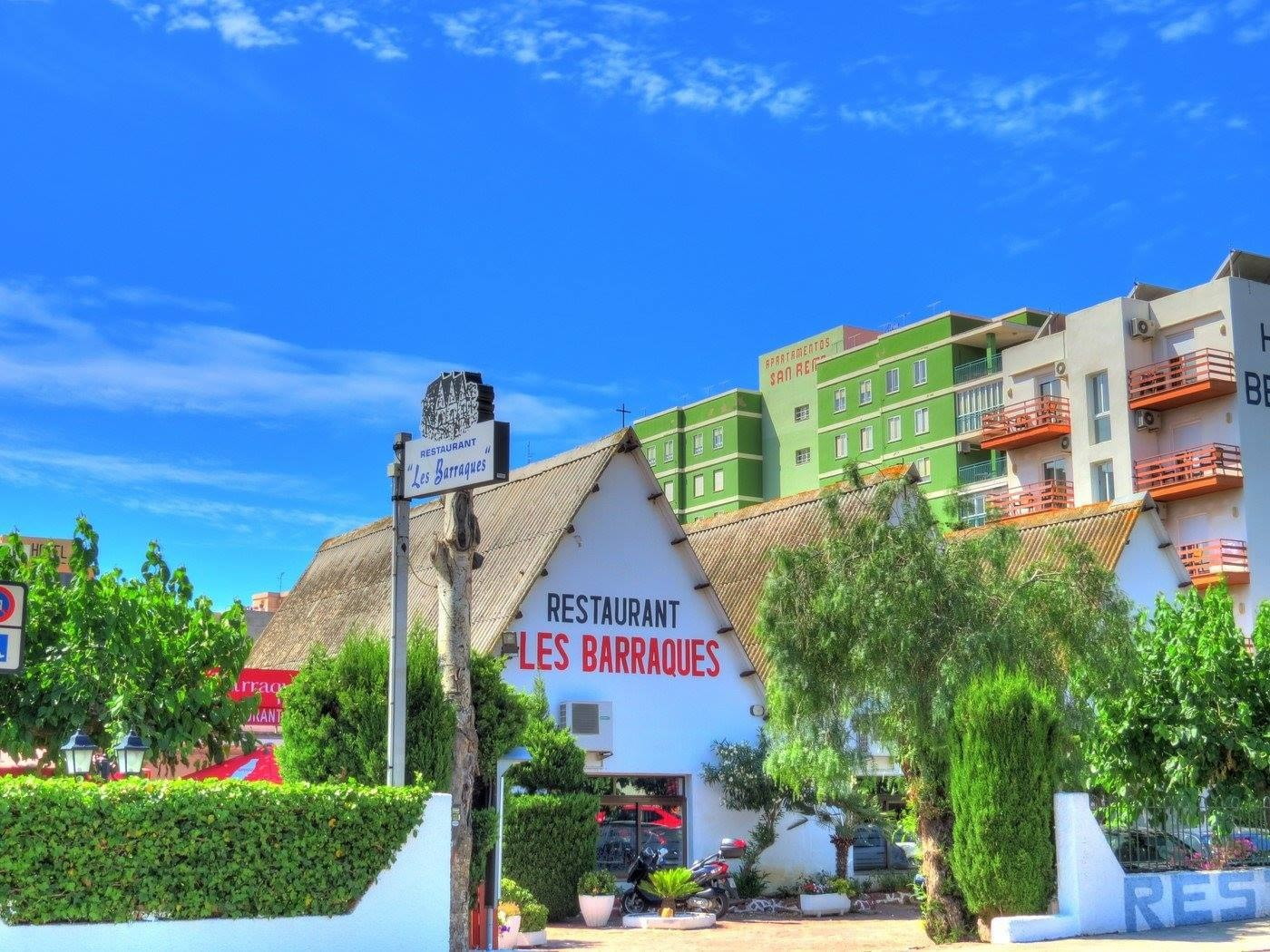 Street view of Les Barraques, Benicassim | Courtesy of Les Barraques, Valencia