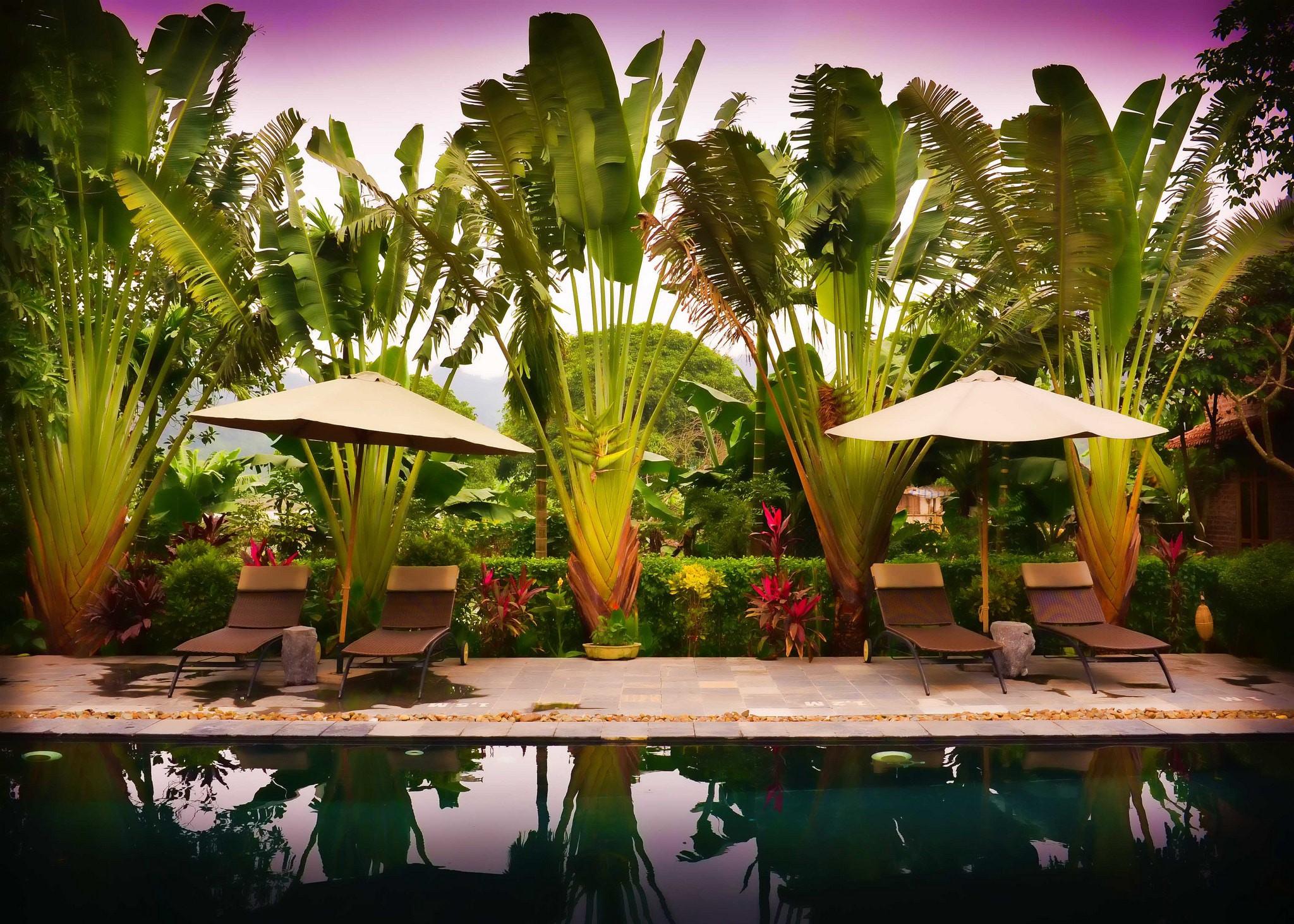Vietnamese style pool   © Neville Wootton/Flickr