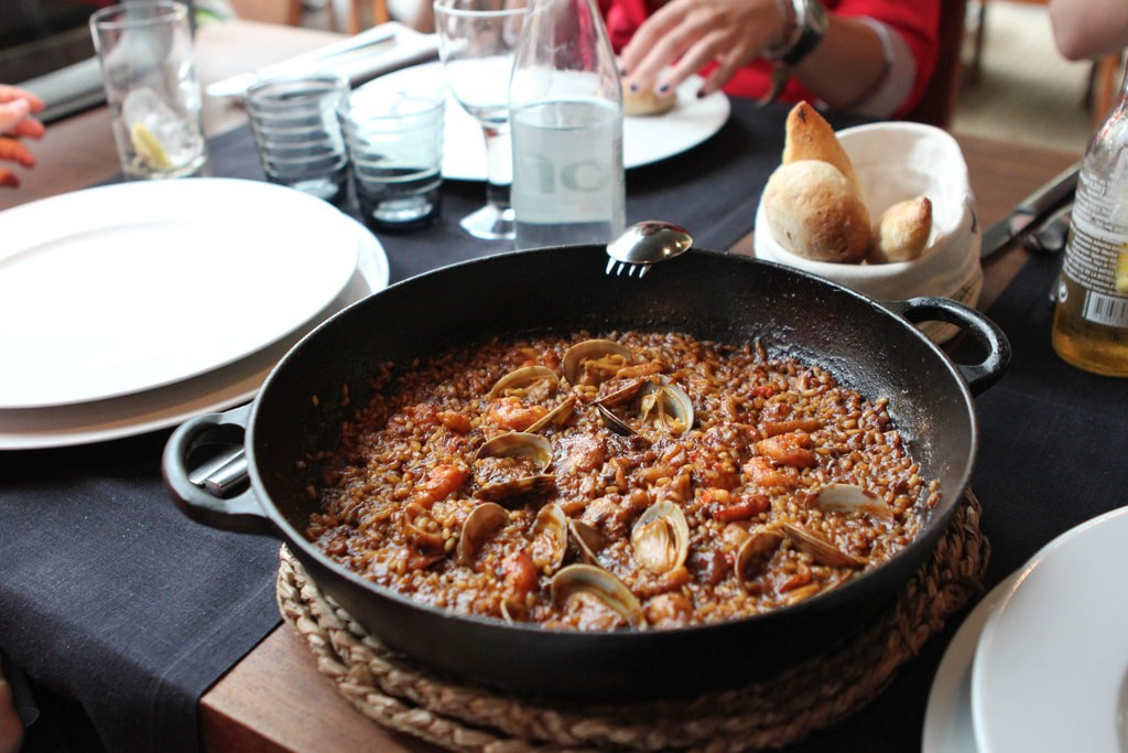 Traditional paella | © Chris Oakley/Flickr