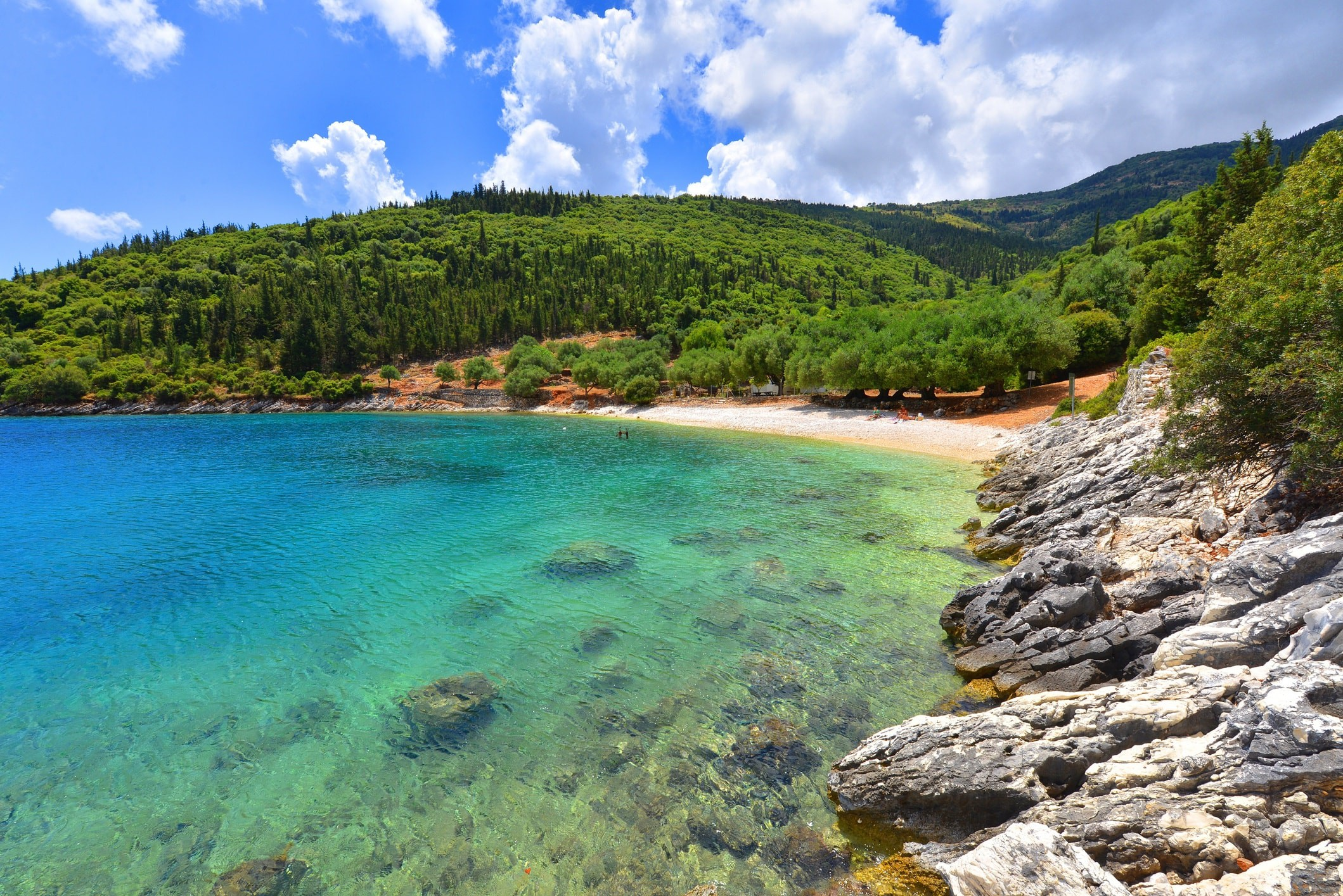 Famous Horgota beach on Kefalonia island in Greece | © Travel Republic