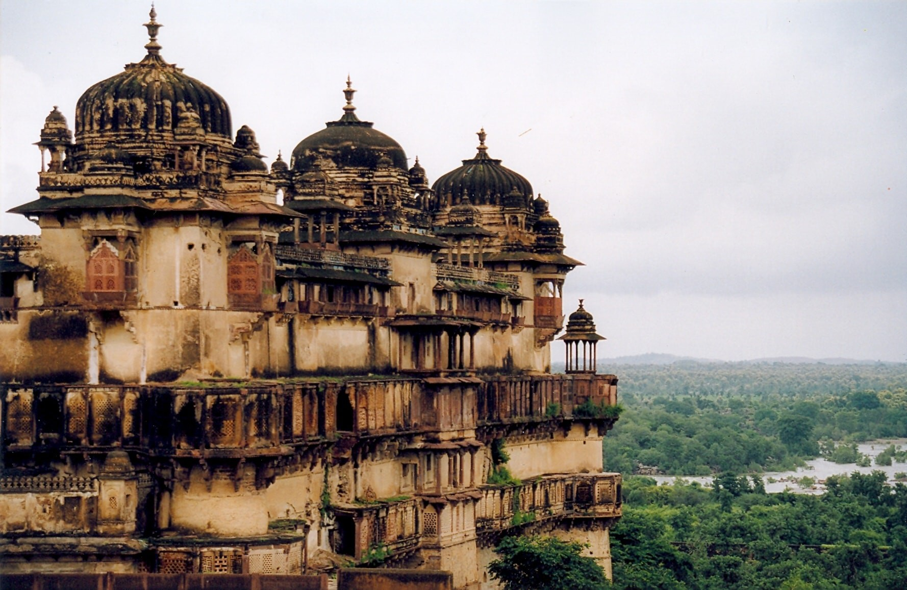 Jahangir Mahal, Orchha Fort Complex | © Doron/Wiki Commons