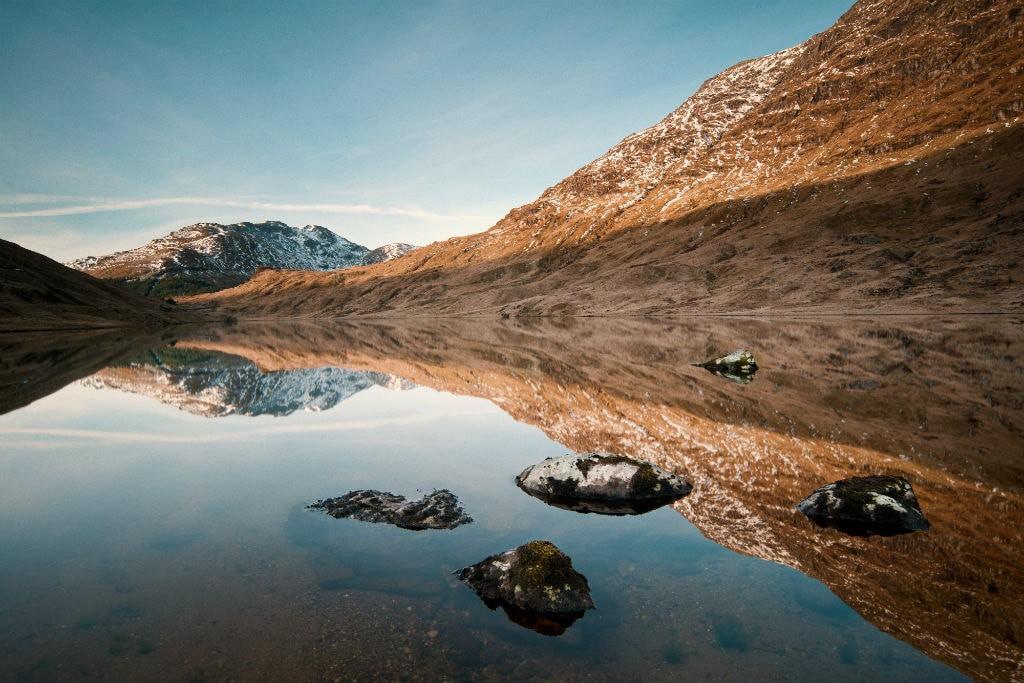 Loch Restil, Cowal Peninsula, Scotland