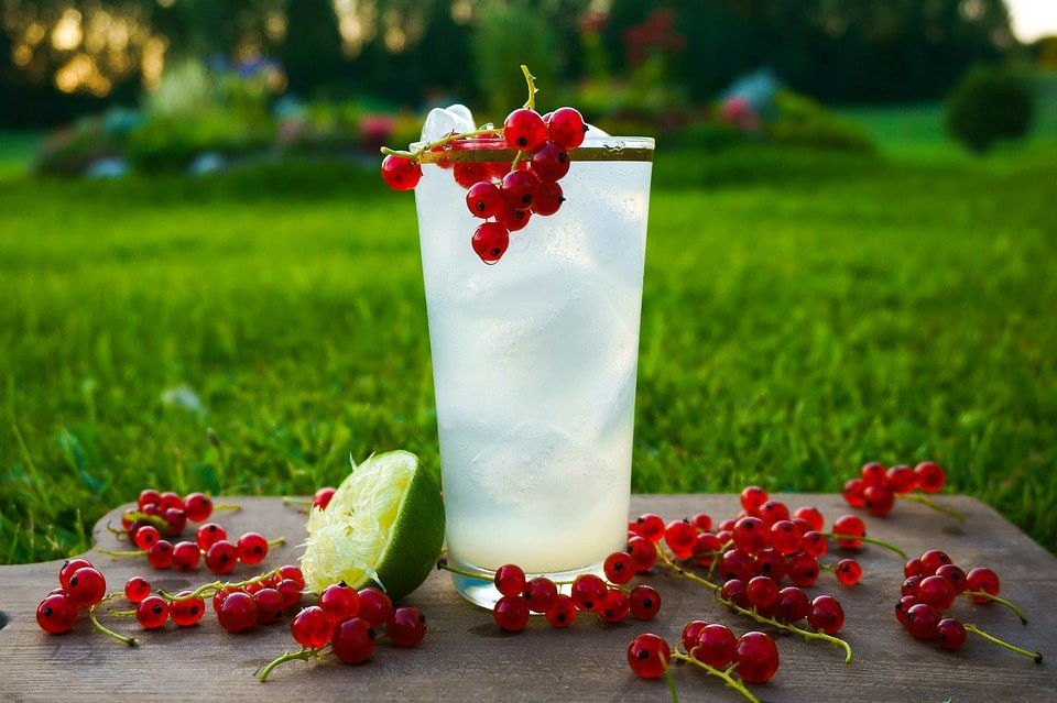 Fresh Fruit & a Cold Drink Are What Summer is All About | © Pixabay