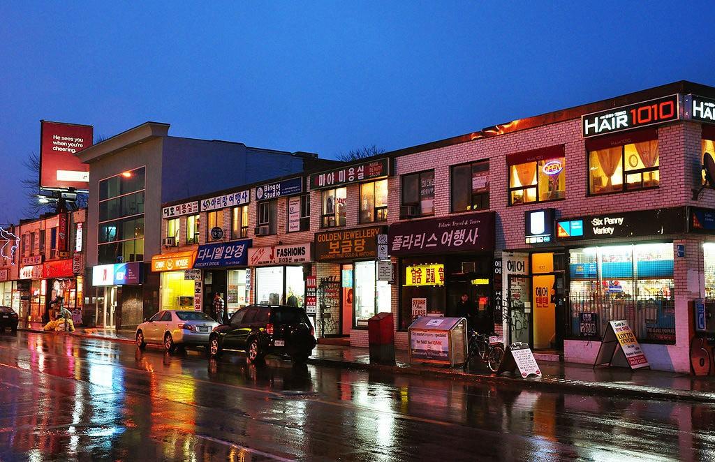 Koreatown in Toronto | © chensiyuan / WikiCommons